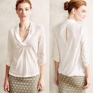 3/4 Women's Anthropologie Deletta Top